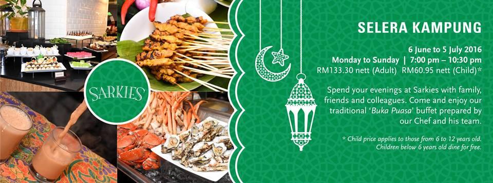 Senarai Buffet Ramadhan Pulau Pinang 2016