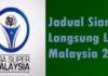Jadual Siaran Langsung Liga Malaysia 2016