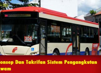 Konsep Dan Takrifan Sistem Pengangkutan Awam