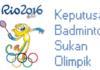 Live streaming Keputusan Badminton Sukan Olimpik 2016